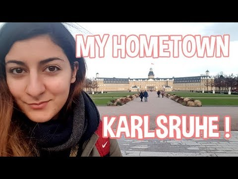 MY LIFE IN GERMANY ➜ MY HOMETOWN : KARLSRUHE !