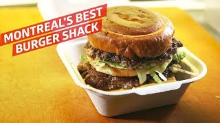 This Is Montreal's Best Burger Shack — Dining on a Dime
