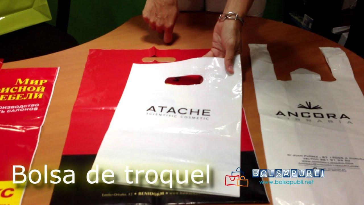 bolsas de pl stico tipos de asa y formatos bolsapubli