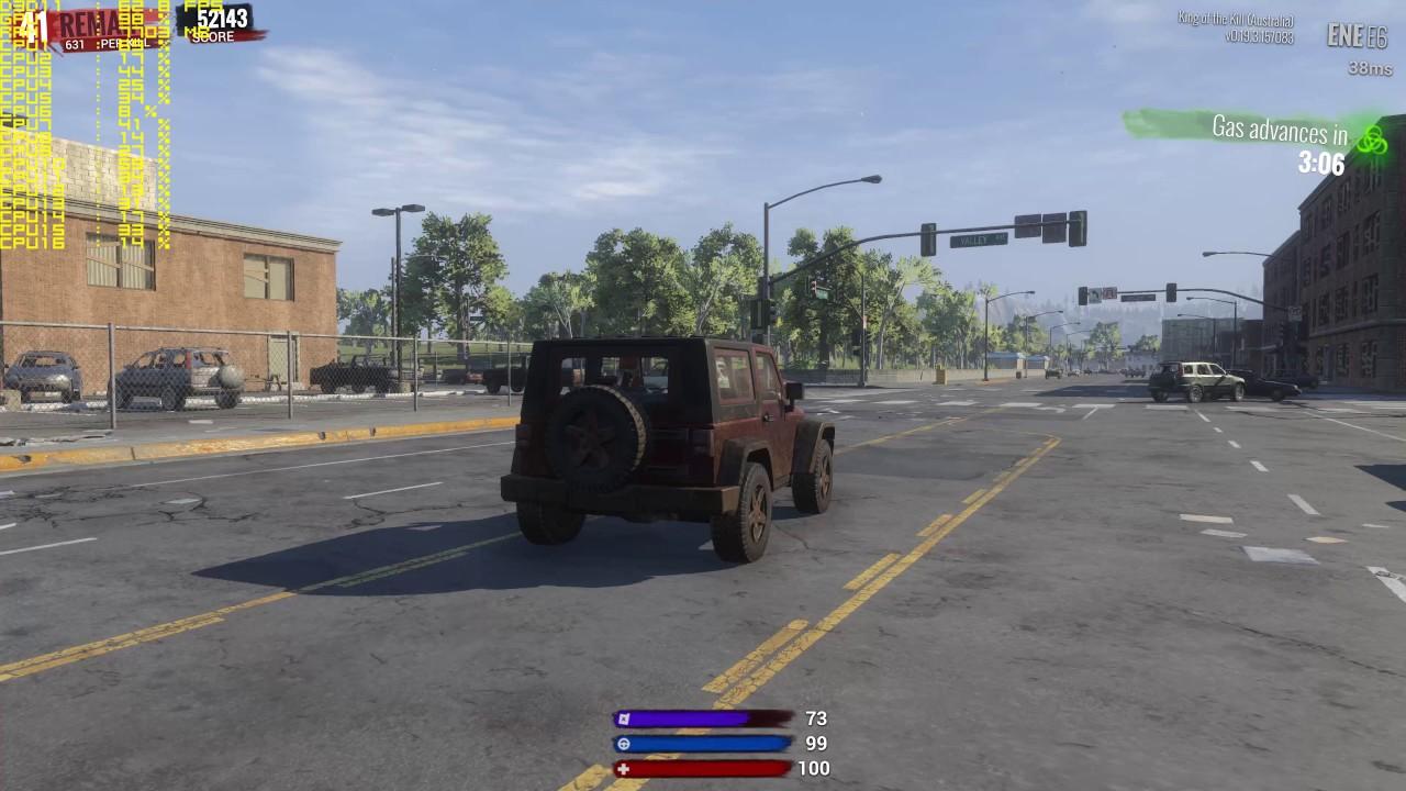 4K H1Z1 GTX 1080 Gameplay FPS Test