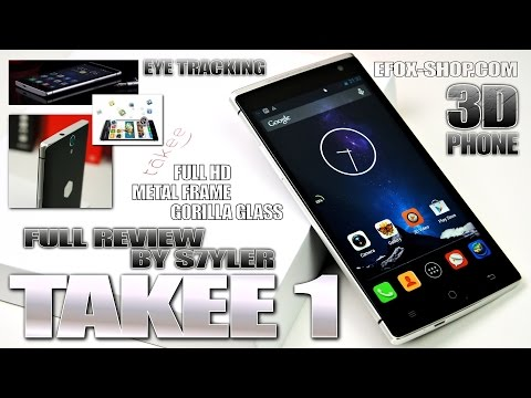 "Takee 1 (In-Depth Review) 3D Holographic? 5.5"" Full HD, Air Touch, Eye-Tracking, Dual Rear Speakers"