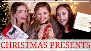 Opening Presents with Zoella & Tanya Burr! | Niomi Smart