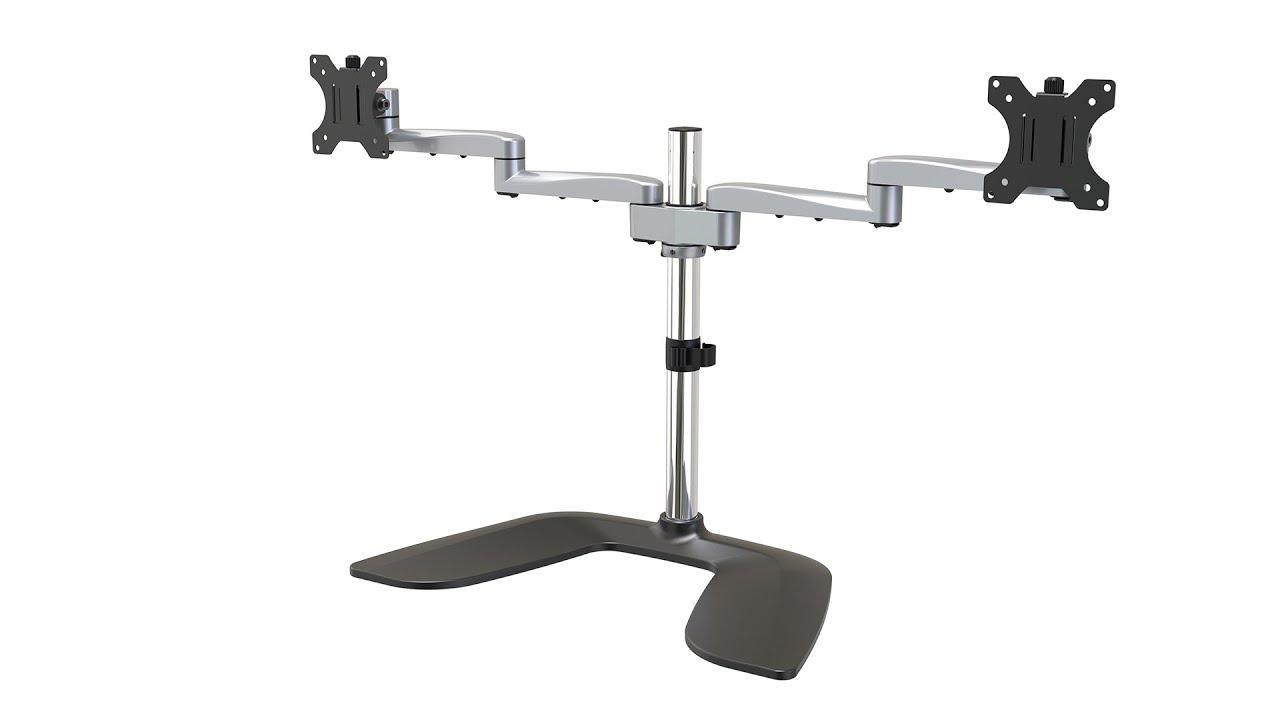 Dual Monitor Stand - 32 inch VESA LCD - Monitor Mounts