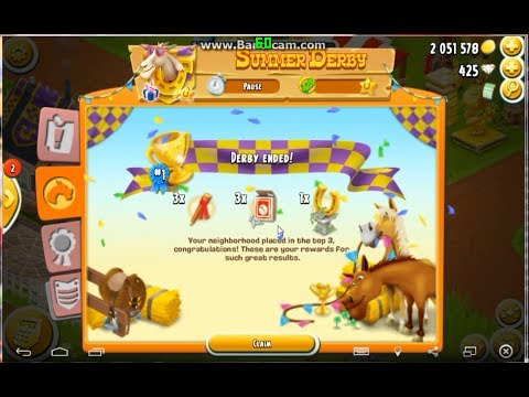Summer Derby Ended   Hay Day Gameplay