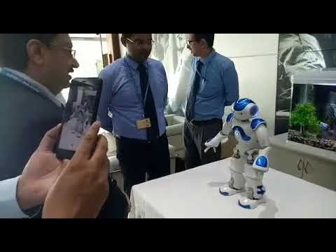 New customer friendly robot banking by Bank of India