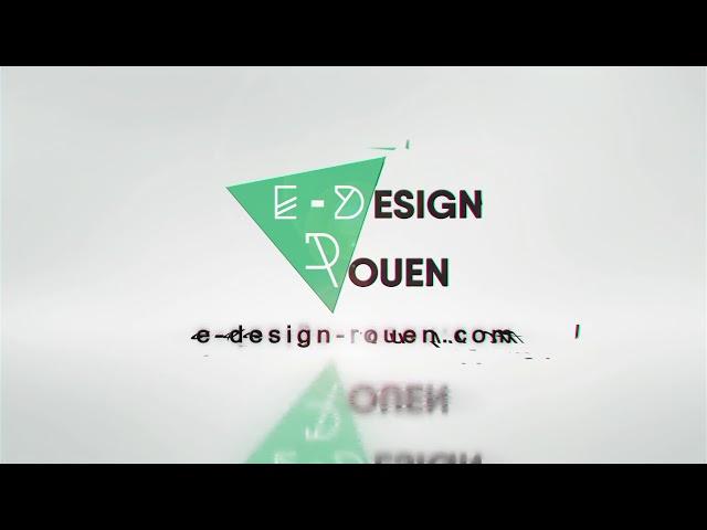 Logo Motion Design : E-Design Rouen