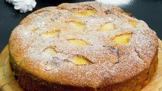 Спасет в любой ситуации! Бюджетный рецепт пышного и вкусного яблочного пирога. I Appetitno.TV