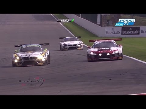 2014 TOTAL 24 Hours of Spa Lead Battle | Rene Rast vs Dirk Werner