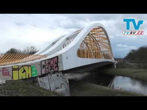 Železniční most OSKAR u Břeclavi