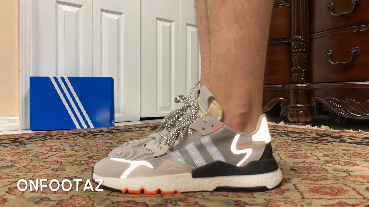 Adidas Nite Jogger Grey Two Solar