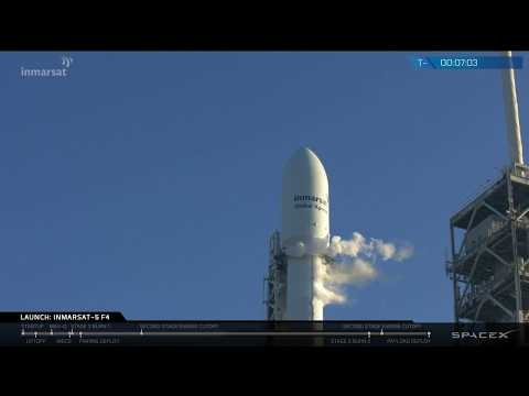 Inmarsat-5 Flight 4 Launch Webcast
