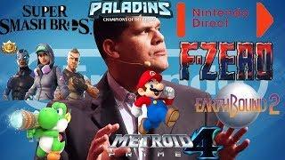 Massive Rumor: Nintendo Entire E3 2018 Games Leaked | F Zero |Smash Switch |  Paladins Switch & More