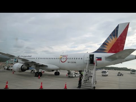 PHILIPPINE AIRLINES - PREMIUM ECONOMY A320 | Caticlan (Boracay) to Manila