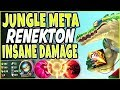 PTA RENEKTON JUNGLE META 🔥 NOTHING CAN STOP THIS JUNGLER 🔥 Renekton Jungle Season 9 Gameplay