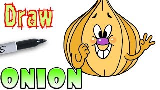 How to Draw the Onion | Cuphead