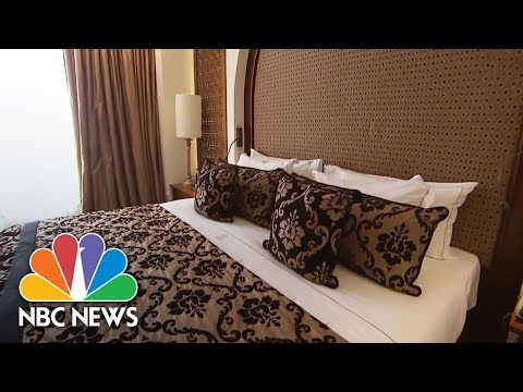 Inside President Trump's Suite At Iconic Jerusalem Hotel   NBC News
