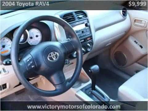 2004 toyota rav4 used cars longmont co youtube for Victory motors trucks longmont