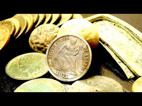 LOST Treasures DISCOVERED Along The Missouri River Metal Detecting! Old And Silver Coins Found!