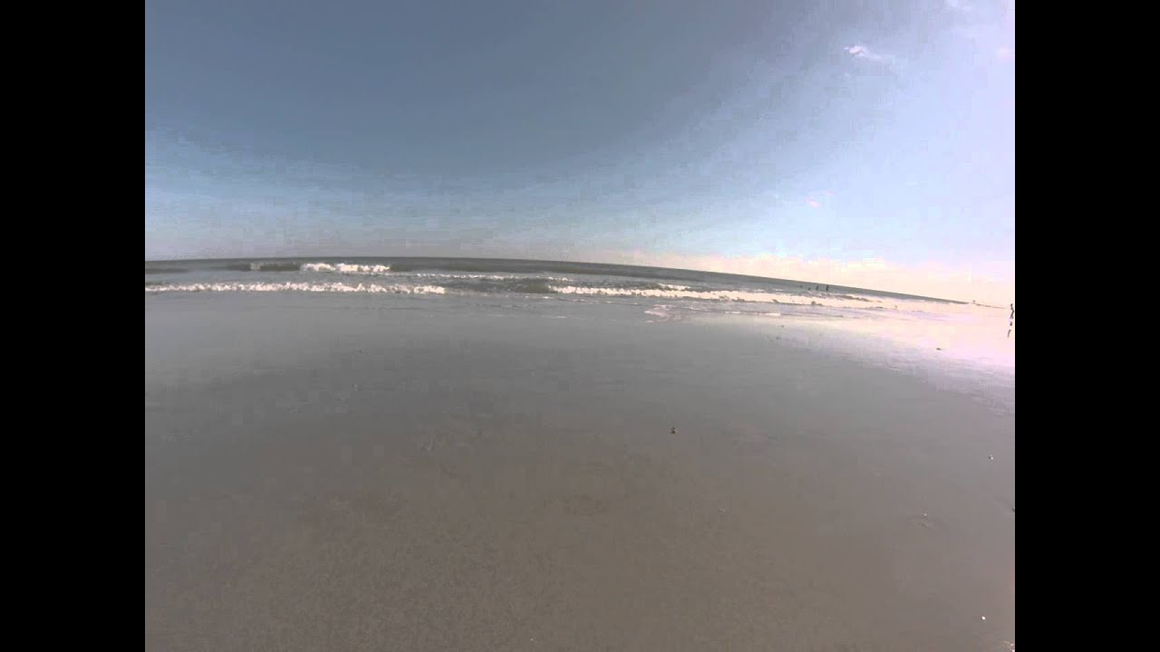 Atlantic Ocean Waves At Myrtle Beach South Carolina Gopro Hero3 Silver Edition Camera