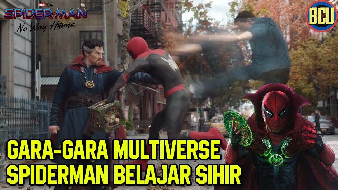 Download MULTIVERSE PECAH!! PETER BELAJAR SIHIR SAMA DOCTOR STRANGE   SPIDERMAN NO WAY HOME TRAILER BREAKDOWN