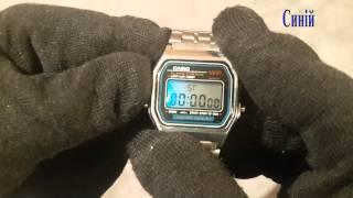 Полный Видеобзор часов CASIO A159W. Как настроить. Как уменшить ремишок