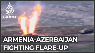 Armenia and Azerbaijan trade blame in Nagorno-Karabakh flare-up