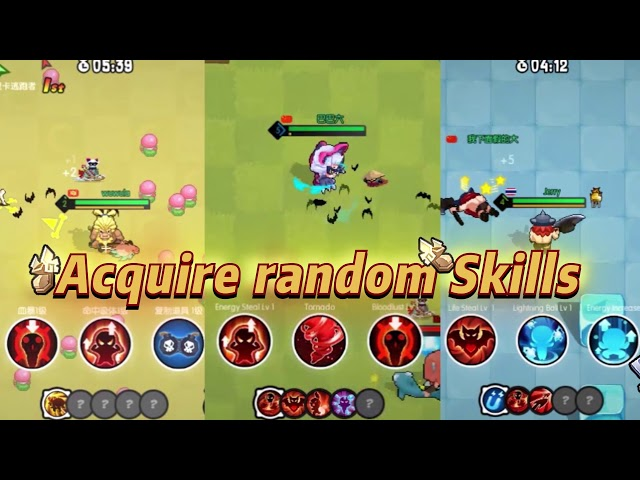 BarbarQ Game Review – Real Time 3 vs 3 vs 3 Battle Royale