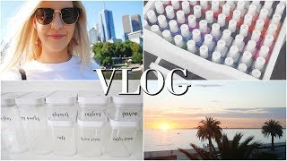 VLOG | Restarting New Years Resolutions, Events & Decluttering