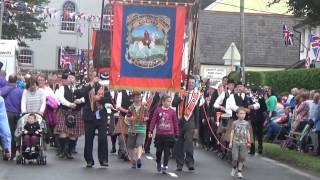 Bellaghy Pipe Band @ 12th of July 2015