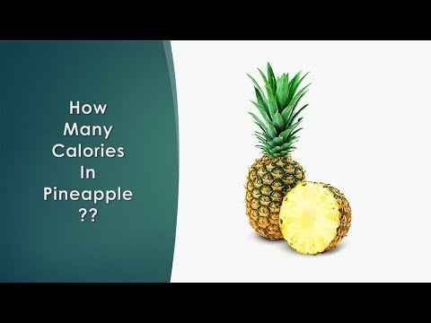 Healthwise Calories How Many Calories In Pineapple Calories Intake And Healthy Weight Lo