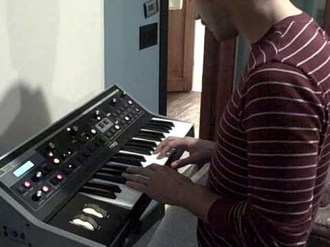 Portugal. The Man - adding a little synth.. (recording in progress new album 2011)