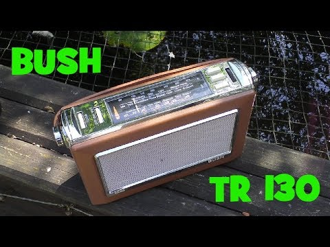 BUSH TR130 Modern retro radio. (2002)
