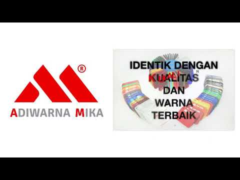 Akrilik Adiwarna Mika Telah Menjadi Identik Dengan Kualitas Dan Warna Terbaik