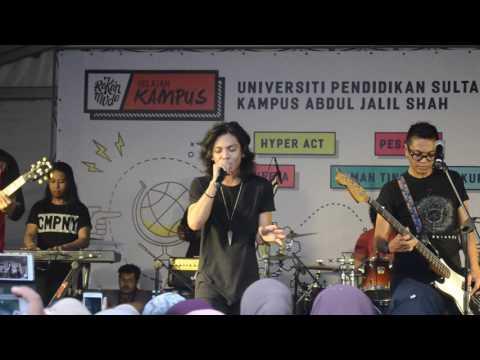 Hyperact - takkan pergi live HD @ jelajah kampus UPSI