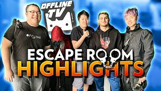 OFFLINETV VS JUST FRIENDS ESCAPE ROOM HIGHLIGHTS