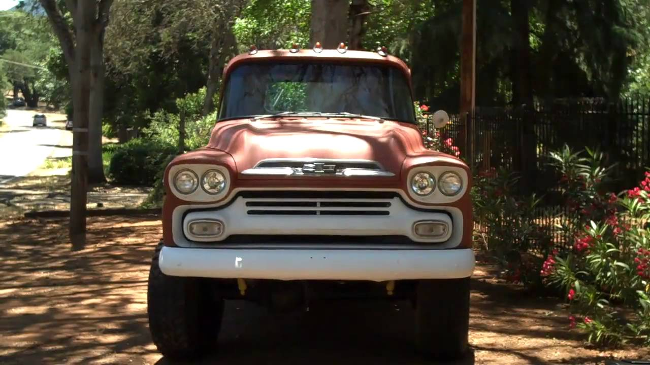All Chevy chevy apache 4×4 : 1959 Apache NAPCO 4X4 from Chevrolet (Video 1) - YouTube