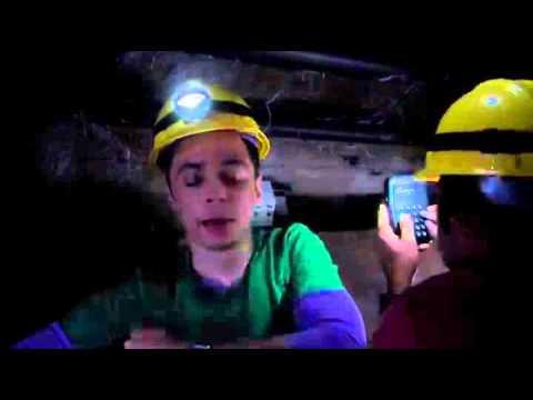 Sheldon sings 'Dark as a dungeon'