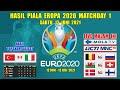 Hasil Piala Eropa Tadi Malam ~ TURKI VS ITALIA EURO 2020 Matchday 1