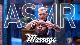 FIRST FEEL IT THEN HEAL IT • ASMR MASSAGE THERAPY IN BARBER SHOP