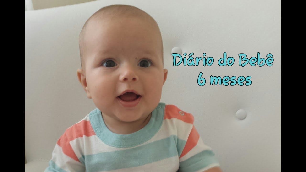 Di rio do beb 6 meses do mateus youtube - Papillas bebe 6 meses ...