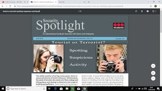 Security training: straight from their own training documents