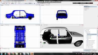 видео урок как снимать детали с одного авто и ставить на другое в змоделер