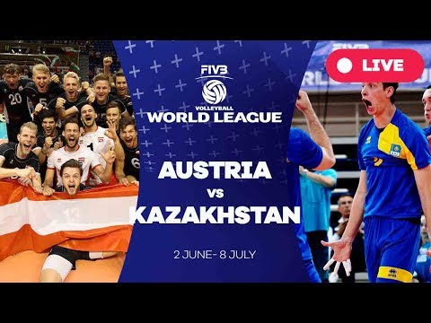 Austria v Kazakhstan - Group 3: 2017 FIVB Volleyball World League