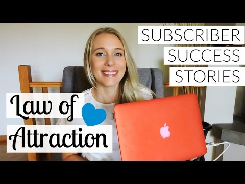LAW OF ATTRACTION: SUBSCRIBER SUCCESS STORIES EP.2