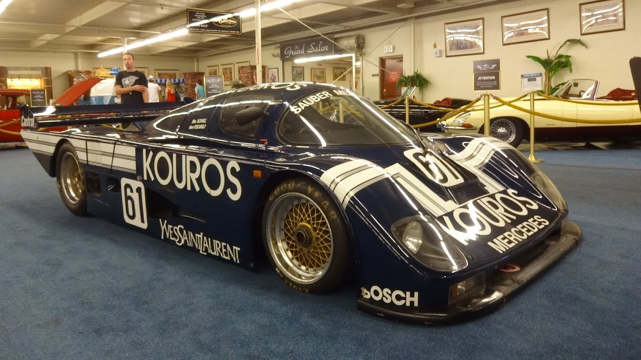 hd 1986 mercedes sauber c8 mercedes le mans 24h race car in auto mall las vegas youtube. Black Bedroom Furniture Sets. Home Design Ideas