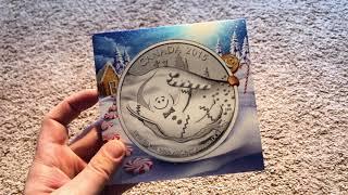 Долгожданная посылка с Канадского Монетного Двора #1