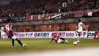 Lukas Podolski First Match for Vissel Kobe, First Win, Two Goals!