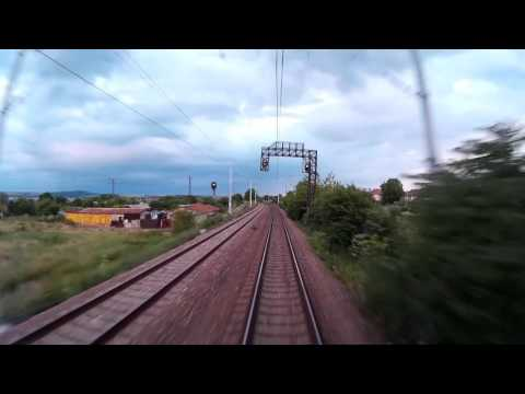 Train cab ride Bulgaria: Burgas - Sofia [via Karlovo]