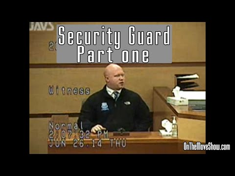 Big Al's Security Guard Testimony | Part 1 | Open Carry Trial PT #18 | OnTheMoveShow
