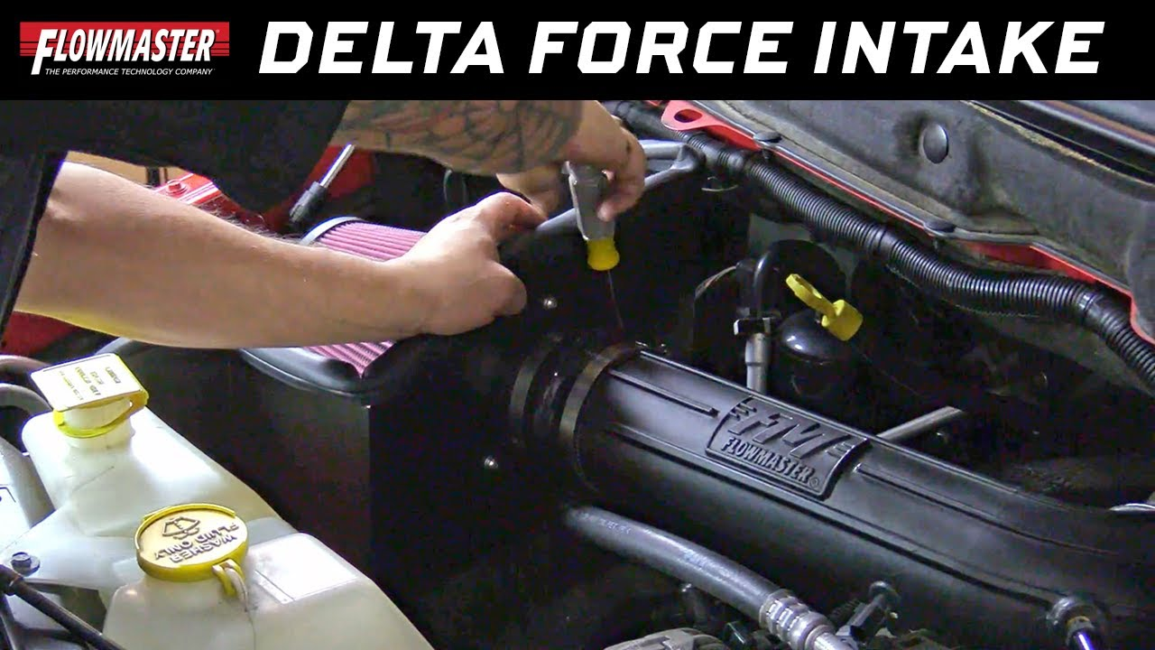 Flowmaster 615111 Delta Force Cold Air Intake 2009-2017 Dodge Ram 1500 5.7L V8